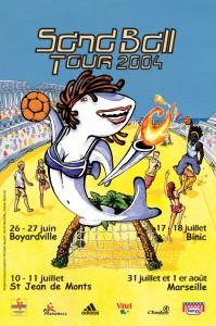 sandball-tour-2004-affiche