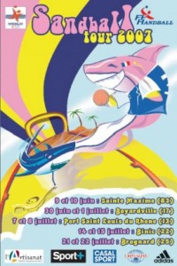 sandball-tour-2007-affiche