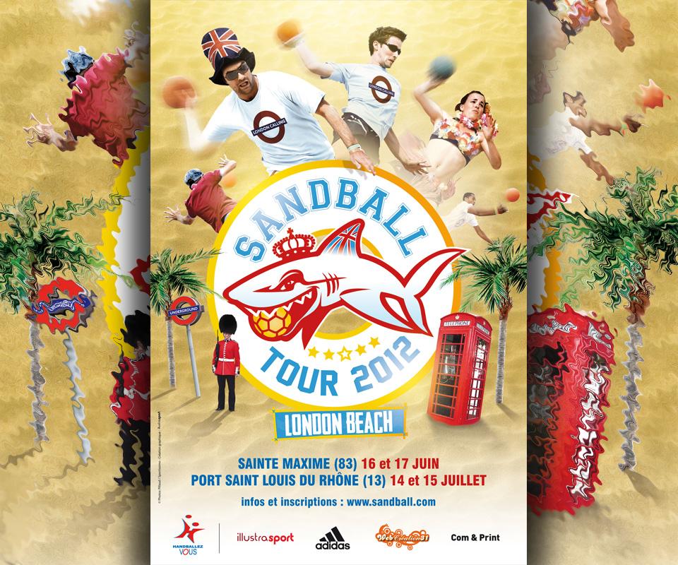 Votre téléphone portable aux couleurs du Sandball Tour 2012