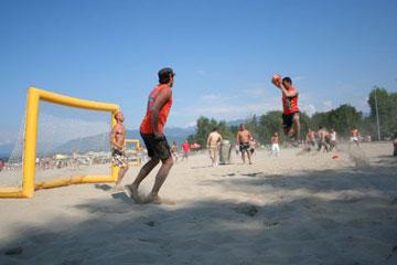 Sandball Tour 2014 : Etape d'Annemasse Excenevex (74), 14 et 15 juin
