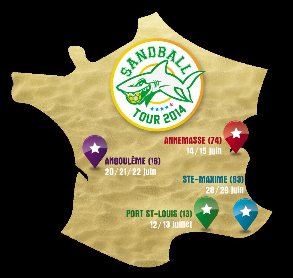 sandball_tour_2014_carte_etapes