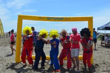 Retour sur la dernière étape du Sandball Tour 2014 à Port-Saint-Louis