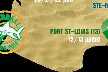 Il vous reste 5 jours pour vous inscrire à la dernière étape du Sandball Tour 2014 à Port-Saint-Louis