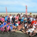 Le Sandball Tour 2014 vu du ciel à Angoulême