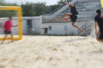 Sandball Tour 2015 : Étape d'Angoulême (16), 20 et 21 juin