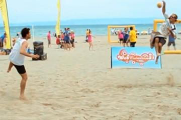 Sandball Tour 2015 : Étape d'Annemasse Excenevex (74), 13 et 14 juin