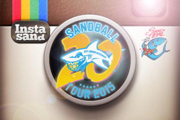 Sandball.com et le Sandball Tour sont sur Instagram