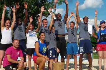 Sandball Tour 2015 à Angoulême: anciens et nouveaux réunis pour les 20 ans du Sandball