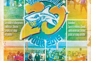 Le Sandball Tour 2015 à Port-Saint-Louis-du-Rhône s'affiche