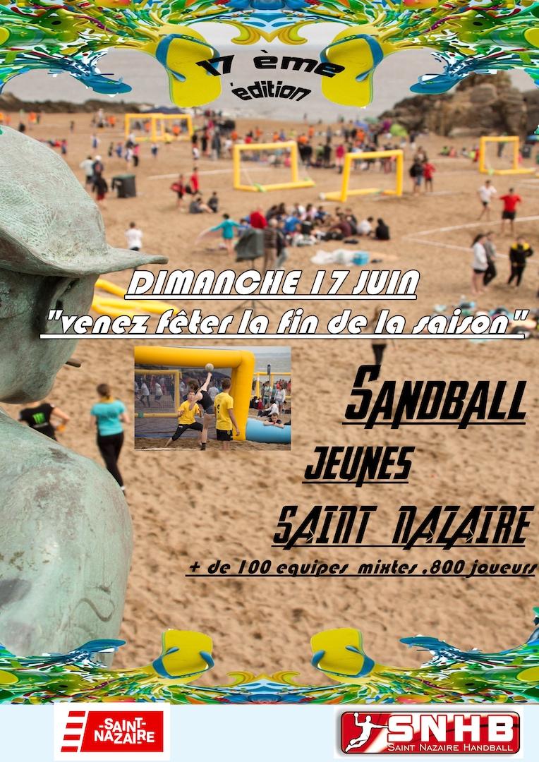 Sandball Jeunes du Saint-Nazaire Handball
