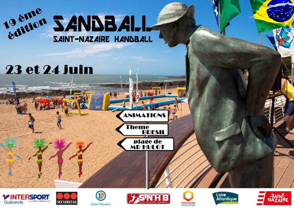 Sandball du Saint-Nazaire Handball