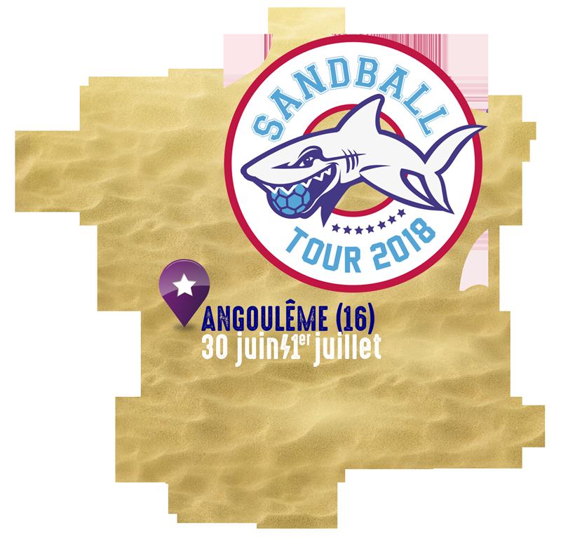 ★ SANDBALL TOUR 2018 : ANGOULÊME ★