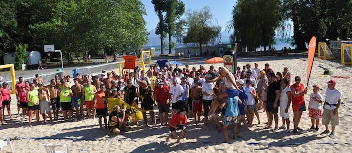 15ème tournoi de Sandball à Lausanne