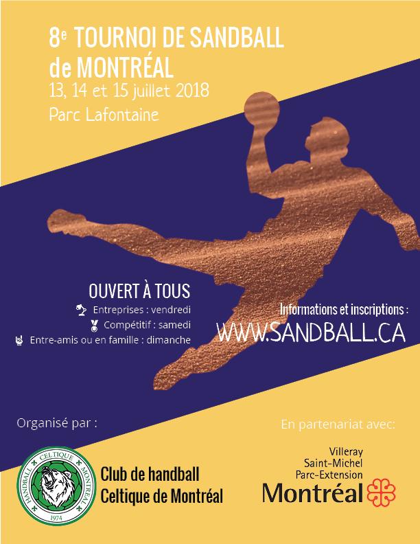 8ème Tournoi de Sandball de Montréal