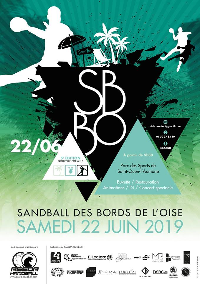 Le SandBall des Bords de l'Oise